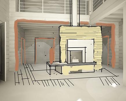Архитектурный эскиз